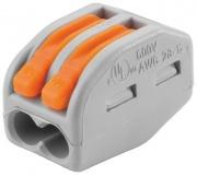 WAGO клемма б/пасты на 2 провода 222-412