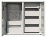 Щит металлический ЩРУ 3Н48 600х500х155 2-х дверный под 3ф. счетчик IP31