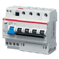 ABB Дифф. автомат 6 модулей 10А 30мА DS204 2CSR254001R1104