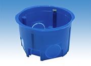 Подрозетник электромонтажный 68х40 синий GX1003