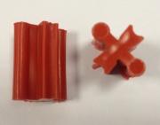 Соединитель к подрозетнику под бетон GX1002 красный GX1012