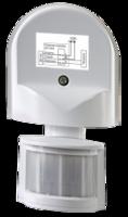 ASD Датчик движения инфракрасный ДД-008-W 1200Вт 180 гр.12м IP44 белый 4680005959709