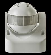 ASD Датчик движения инфракрасный ДД-009-W 1200Вт 180 гр.12м IP44 белый 4680005959716