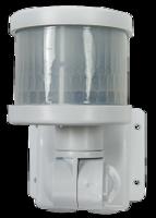 ASD Датчик движения инфракрасный ДД-018-W 1200Вт 220 град. 12м, IP44 белый 4680005959723