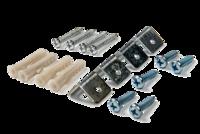 ASD комплект подвесов LP-КПП-К КОРОТКИЙ для панели светодиодной 4690612001401