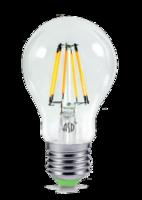 ASD Лампа светодиодная LED-A60-PREMIUM 6Вт 160-260В Е27 3000К 540Лм прозрачная 4690612003207