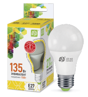 ASD Лампа светодиодная LED-A60-standard 15Вт 160-260В Е27 3000К 1350Лм 4690612002088