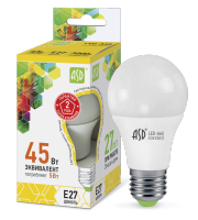 ASD Лампа светодиодная LED-A60-standard 5Вт 160-260В Е27 3000К 450Лм 4690612001654