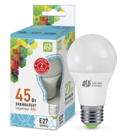 ASD Лампа светодиодная LED-A60-standard 5Вт 160-260В Е27 4000К 450Лм 4690612001630