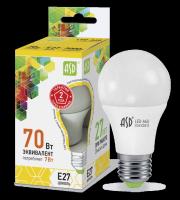ASD Лампа светодиодная LED-A60-standard 7Вт 160-260В Е27 3000К 630Лм 4690612001692