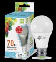 ASD Лампа светодиодная LED-A60-standard 7Вт 160-260В Е27 4000К 630Лм 4690612001678