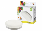 ASD Лампа светодиодная LED-GX53-standard 4.2Вт 160-260В 3000К 380Лм 4690612005058