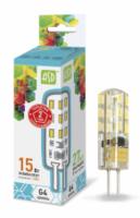 ASD Лампа светодиодная LED-JC-standard 1.5Вт 12В G4 4000К 135Лм 4690612003290