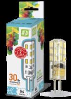 ASD Лампа светодиодная LED-JC-standard 3Вт 12В G4 4000К 270Лм 4690612004648