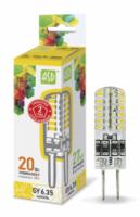 ASD Лампа светодиодная LED-JCD-standard 2Вт 160-260В GY6,35 3000К 180Лм 4690612004013