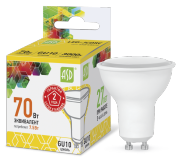 ASD Лампа светодиодная LED-JCDRC-standard 7.5Вт 160-260В GU10 3000К 675Лм 4690612002361