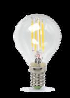 ASD Лампа светодиодная LED-ШАР-PREMIUM 5Вт 160-260В Е14 4000К 450Лм прозрачная 4690612004167