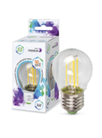 ASD Лампа светодиодная LED-ШАР-PREMIUM 5Вт 160-260В Е27 4000К 450Лм прозрачная 4690612004174