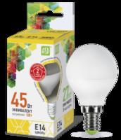 ASD Лампа светодиодная LED-ШАР-standard 5Вт 160-260В Е14 3000К 450Лм 4690612002125