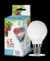 ASD Лампа светодиодная LED-ШАР-standard 5Вт 160-260В Е14 4000К 450Лм 4690612002149