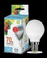ASD Лампа светодиодная LED-ШАР-standard 7.5Вт 160-260В Е14 4000К 675Лм 4690612003979