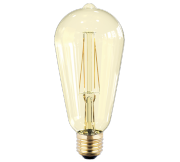 ASD Лампа светодиодная LED-ST64-PREMIUM 8Вт 160-260В Е27 3000К 720Лм GOLDEN 4690612006109