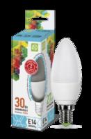 ASD Лампа светодиодная LED-СВЕЧА-standard 3.5Вт 160-260В Е14 4000К 320Лм 4690612002057
