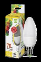 ASD Лампа светодиодная LED-СВЕЧА-standard 7.5Вт 160-260В Е14 3000К 675Лм 4690612003924