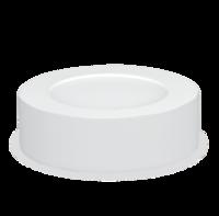 ASD панель LED круглая NRLP-eco 8W 4000К 120мм белая накладная IP40 4690612004358