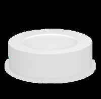 ASD панель светодиодная круглая NRLP-eco 8W 4000К 120мм белая накладная IP40 IN HOME 4690612008103