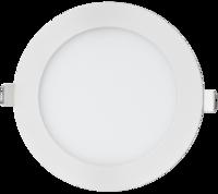 ASD панель светодиодная круглая RLP-eco 24W 4000К 1920Лм 300/285мм белая IP40 4690612004341