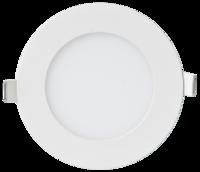 ASD панель светодиодная круглая RLP-eco 8W 4000К 640Лм 120/105мм белая IP40 4690612004310