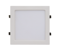 ASD панель светодиодная квадратная SLP-eco 18W 4000К 1260Лм 225х225х23мм белая IP40 4690612007175