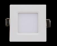 ASD панель светодиодная квадратная SLP-eco 3W 4000К 210Лм 86х86х23мм белая IP40 4690612007144