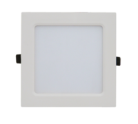 ASD панель светодиодная квадратная SLP-eco 8W 4000К 560Лм 108х108х23мм белая IP40 4690612007151