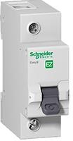 Schneider electric Автоматический выключатель 1П 6А EZ9F34106