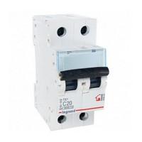 Legrand Автоматический выключатель ТХ3 С20А 2П 6000кА 404043