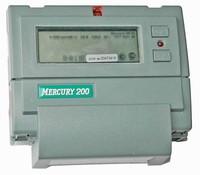 Электросчетчик Меркурий 200.04 5(60)А/230В многотарифный однофазный ЖКИ, CAN, PLC