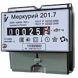 Электросчетчик МЕРКУРИЙ 201.7 230V 60A однотарифный однофазный