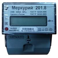 Электросчетчик Меркурий 201.8 10(80)А/230В однотарифный однофазный