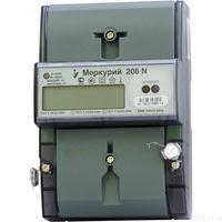 Электросчетчик Меркурий 206 N 5(60)А/230В многотарифный однофазный ЖКИ