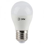 ЭРА лампа светодиодная шарик Р45 7W Е-27 теплый 827