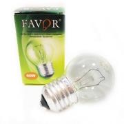 FAVOR лампа накаливания ДШ Е27 60W прозрачная 230V P45