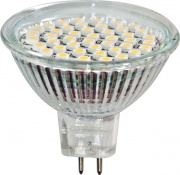 FERON лампа светодиодная MR16 GU5.3 3W прозрачная холодная белая LB-24 6400K