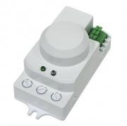 FERON микроволновый датчик движения 230V 1200W 8m 360гр белый SEN40