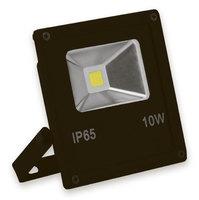 FERON прожектор светодиодный черный 10W IP65 6400K SFL70-10