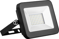 FERON SAFFIT прожектор светодиодный черный компактный SMD 20W IP65 6400K SFL90-20