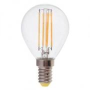 FERON шарик прозрачный светодиодный E-14 5W филамент холодный белый LB-61 6400К
