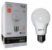 Gauss Elementary лампа светодиодная LED A60 E-27 7W теплая 2700K 23217А