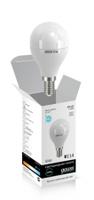 Gauss Elementary лампа светодиодная шар Е-14 6W холодная 4100K 53126